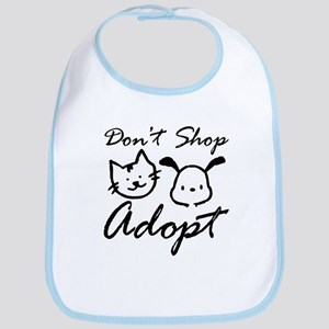 Don't Shop, Adopt Bib